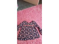 Girls clothing ages ranging from 2-4 years