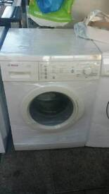 bosch washing machine comes with warranty can be delivered