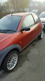 Ford Ka repairs or spares nice alloys