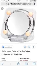 Reflections Light Up Mirror