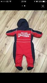 6-9 mths Next snowsuit