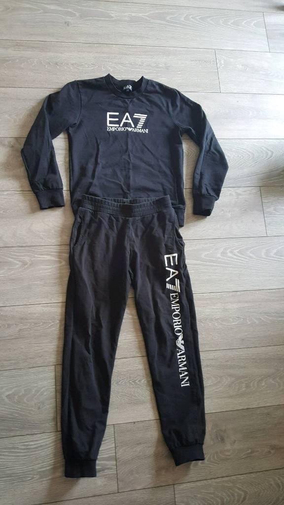 EA7 Emporio Armani tracksuit original 12y