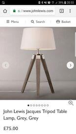 John lewis tripod lamp