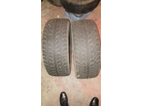"2 x 17"" Nexen WINguard 215/55/17 winter snow tyres"