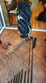 Full Set of Mens Golf Clubs - Callaway X12
