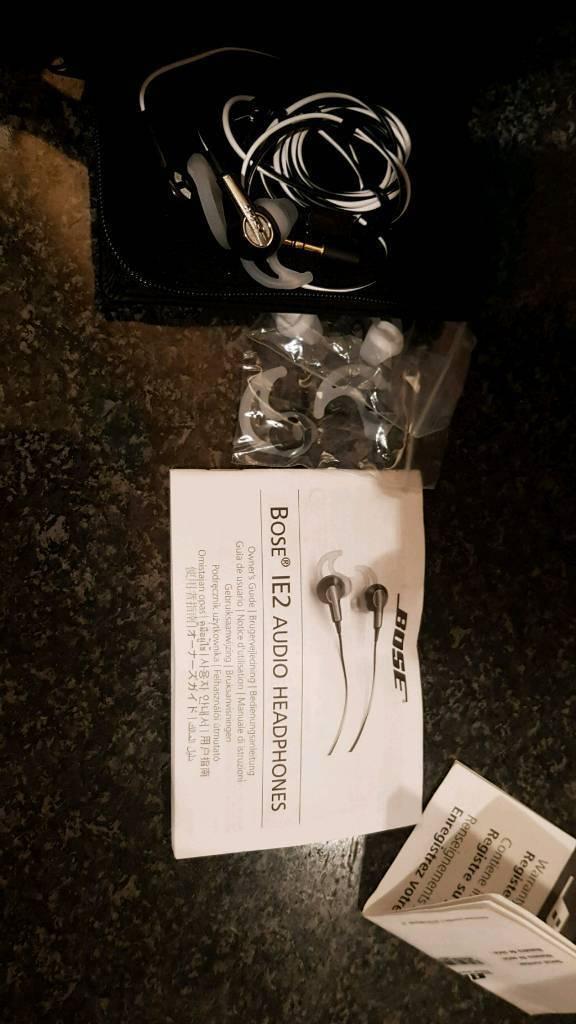Bose IE2 headphones