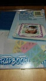 Mini baby Scrapbooking Kit.