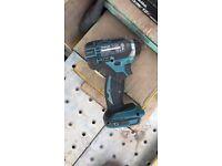 Makita impact gun and screw gun and 2x 3ah batteries