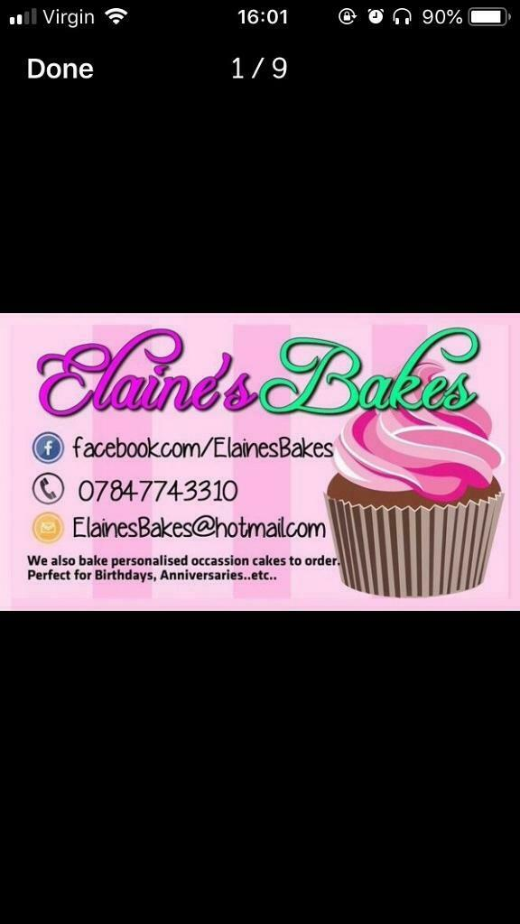 Homemade Celebration Cakes By Elaines Bakes