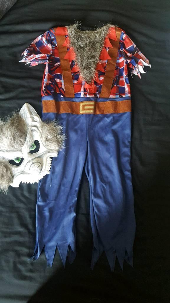 Halloween werewolf outfit
