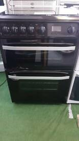 Hotpoint gas cooker Black Brand New
