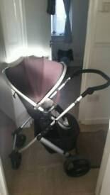 Unisex travel system and car seat