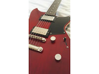 Yamaha Revstar RS420, Fired Red, upgraded with Seth Lover SH55 neck pick up, comes with hard case.