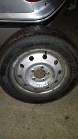 215/60r16 van tyre commercial with wheel