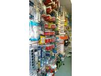 Mobile shop stock clearance