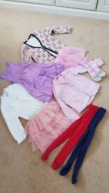 4-6 year old girls bundle of clothing
