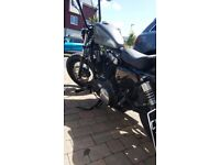 Harley Davidson Sportster 1200 48 Bobber Custom 3k Miles (PILLION PEGS FITTED WITH SUCTIONCUP SEAT)