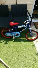 "Childrens 16"" bikes like new"