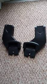 Maxi cosi cabriofix or pebble adapters for an Oyster max pushchair, lower position