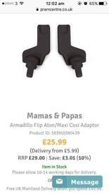 Mamas and papas adaptors (sold)
