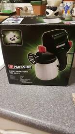 Parkside paint spray gun
