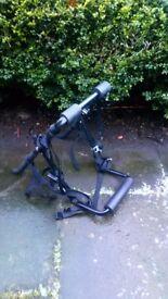 Bike bumper/boot rack.