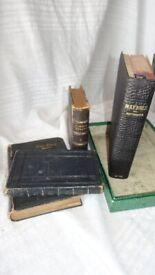 Vintage Prayer books and Bibles