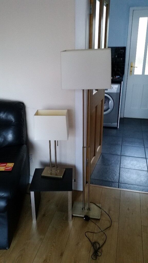 Table Lamp And Matching Floor Lamp In Camelon Falkirk Gumtree