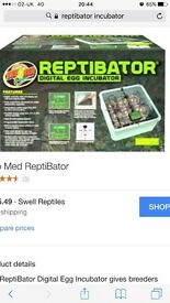 Reptile egg incubator fully working, only used once selling new for £150
