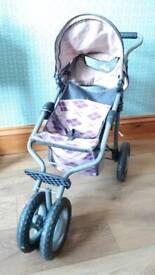Dolls pushchair/buggy