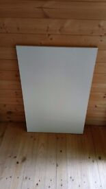 Kitchen end pannels 900mm x 580mm white effect