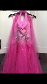 Fuschia pink Prom dress Size 6