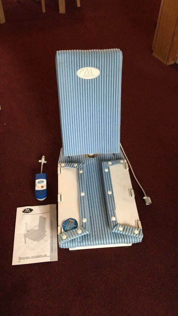 Minivator type 303 battery operated bath chair   in Whiteinch ...