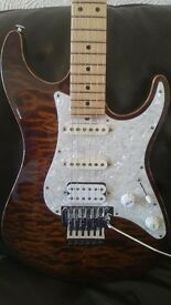 Suhr pro series S6 guitar