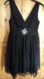 Little black dress/ party dress size 12