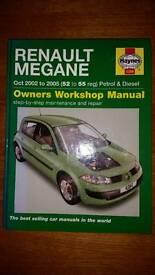 Haynes Renault Megane workshop manual