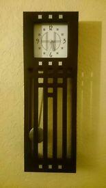 Charles Rennie Mackintosh pendulum clock