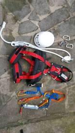 climbing belts full set