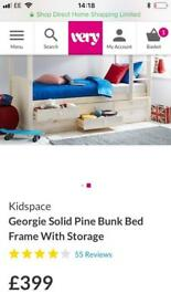 Kidspace Georgie bunk bed