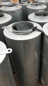 """Cheshunt Hydroponics Store - used 10"""" inline carbon filters"""