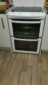 Cooker and ceramic hob 600mm