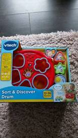Sort and discover drum