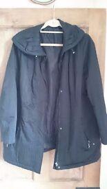 Ladies black jacket size 16