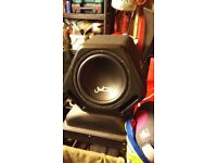 JUICE SUB WOOFER WITH VIBE AMP