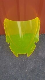 Honda Vtr 1000 Firestorn Double Bubble Screen ( yellow )