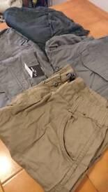 NEW UNWORN combat pants £6/pair