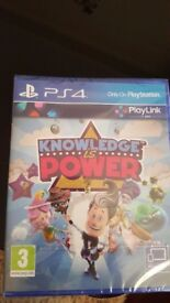 Knowledge is power ps4.