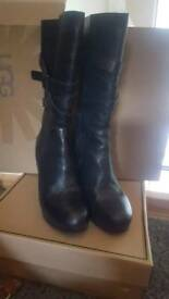 Ugg leather knee/ calf high boots