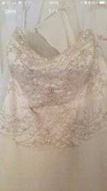 Alfred Angelo Belle wedding dress