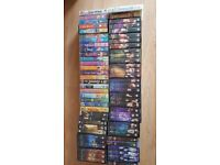 VHS tapes; Disney, Lord of the Rings, Buffy the Vampire Slayer seasons 1, 3, 4, 5 and 6